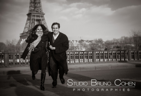 Proposal in paris - demande en mariage Paris