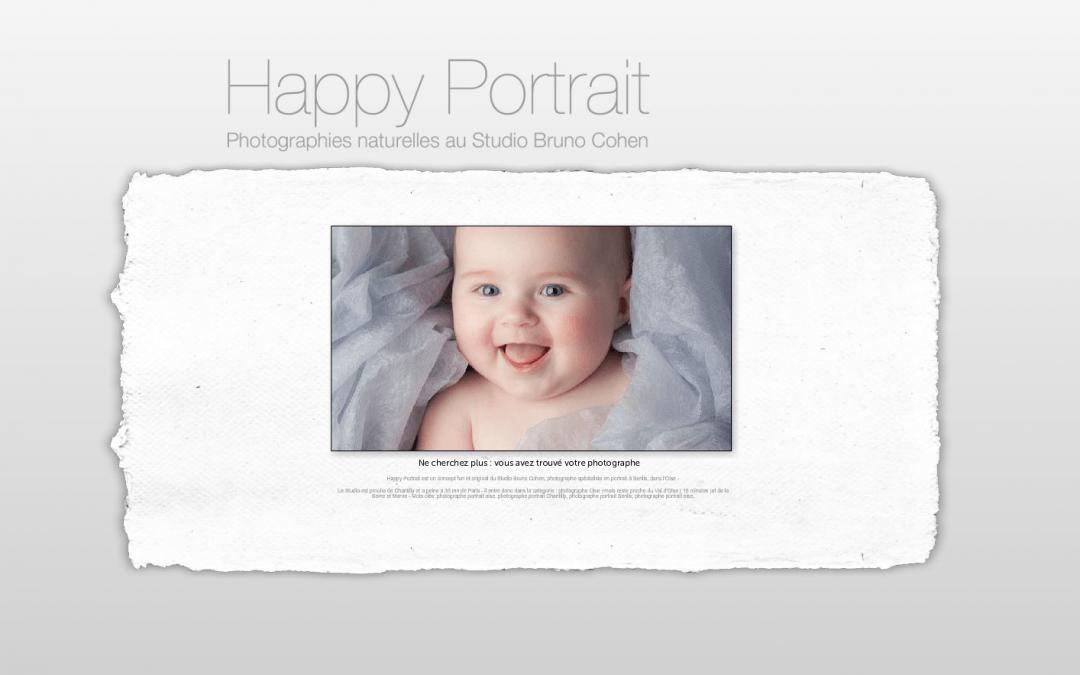 Nouveau site web pour nos portraits