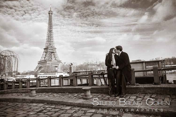 Alfonso & Lisa – Demande en Mariage à Paris