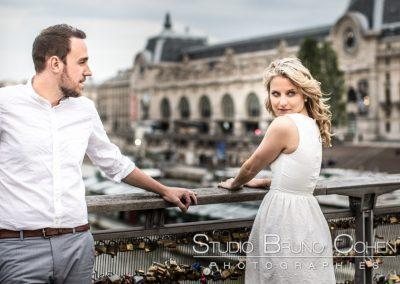 Portrait engagement a Paris
