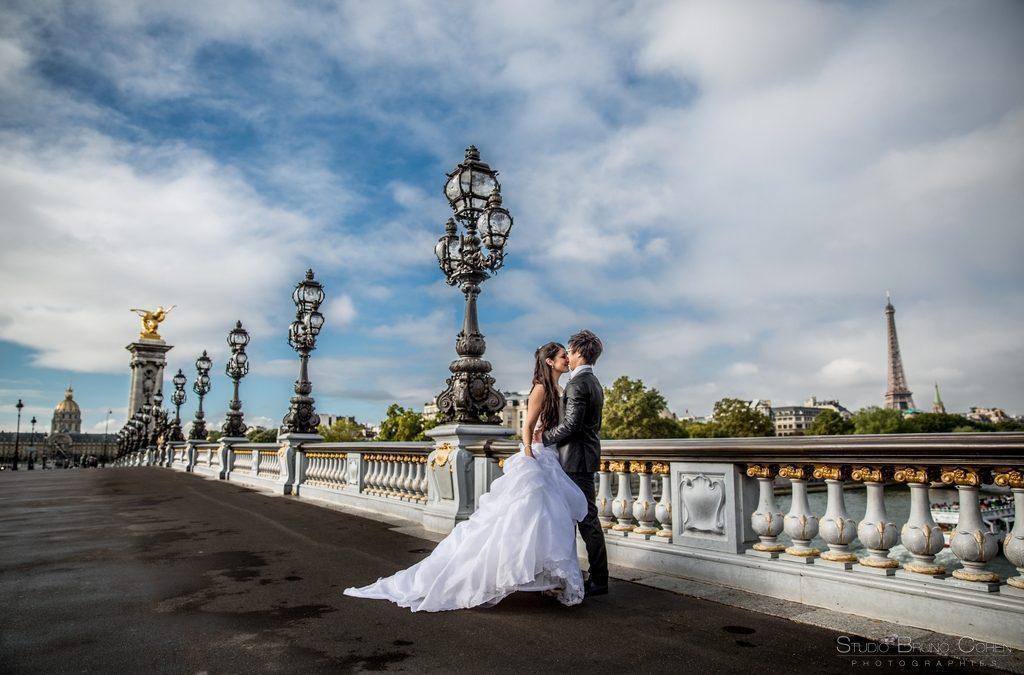 Mariage d'Audrey & Louis – portraits a Paris