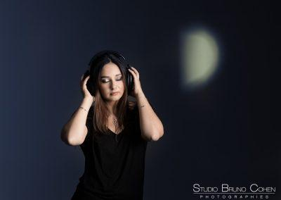 Photographe oise  portrait casting femme