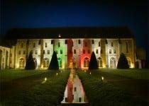 abbaye-de-royaumont-lieu-reception-mariage-evenement-entreprise-soiree-lumiere