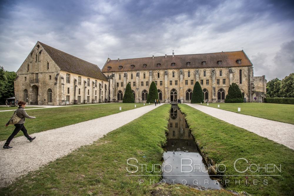 entree de l'abbaye de royaumont