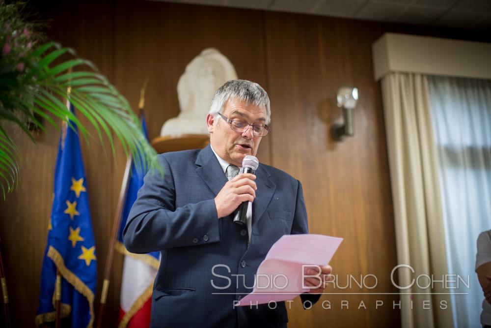 discours lors de la ceremonie civile