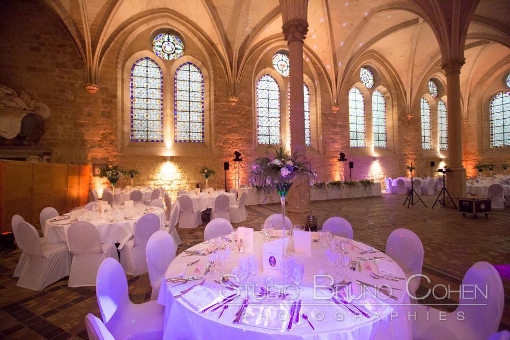 salle de reception a l'abbaye de royaumont