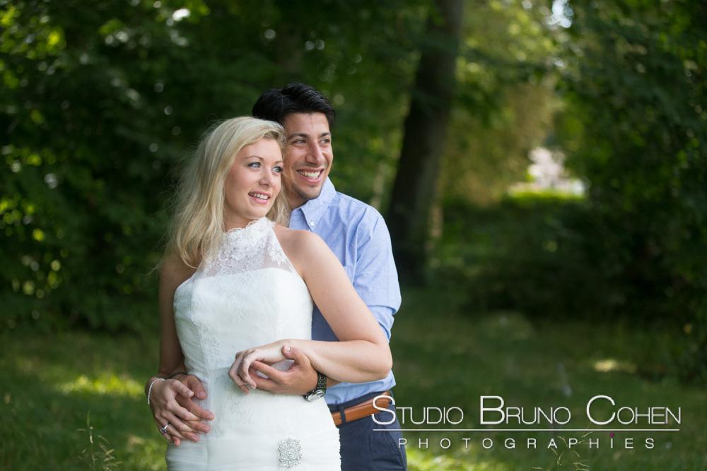 maries dans le parc du chateau d'ermenonville