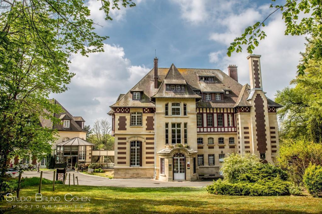 chateau de la tour gouvieux vue facade nord