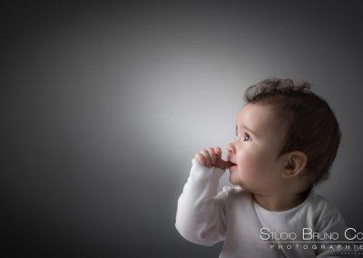 Séance photo en studio bébé