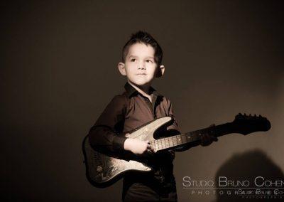 photographe oise portrait studio casting guitare enfant