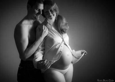photographe enceinte studio