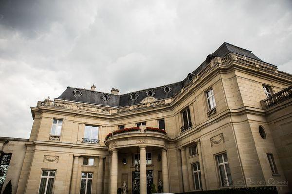 facade de l'hotel tiara montroyal chantilly