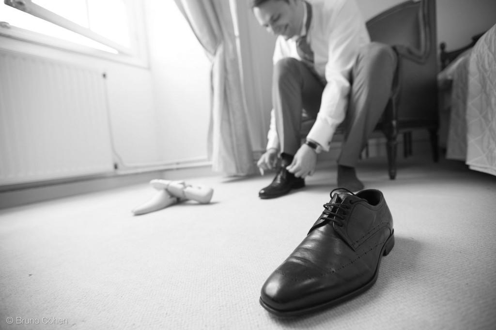 marie met ses chaussures