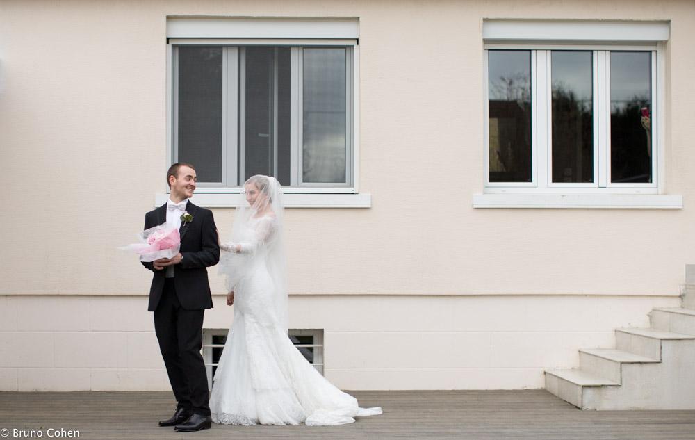 retrouvailles entre les maries