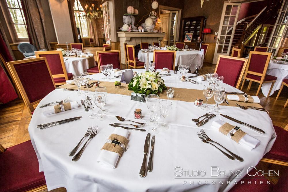 salle du restaurant du chateau de la tour