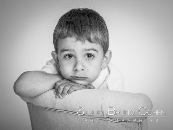 Clément & Maxime – portraits d'enfants en studio