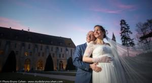 mariage-Collegiale-Montmorency-Abbaye-Royaumont-oise-senlis-ciel-couple-maries