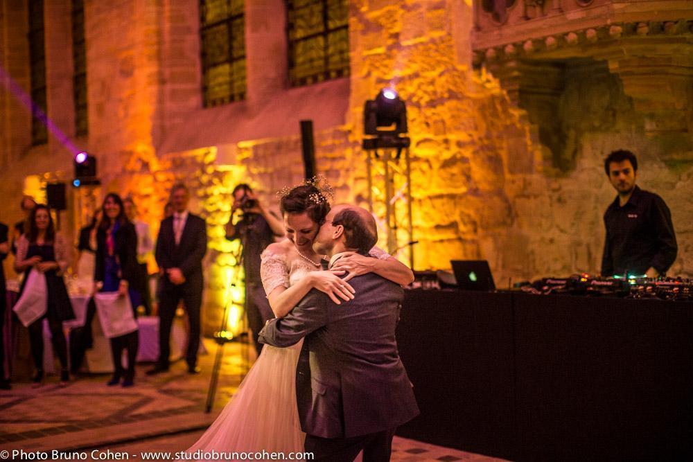 premiere danse des maries devant leurs invites