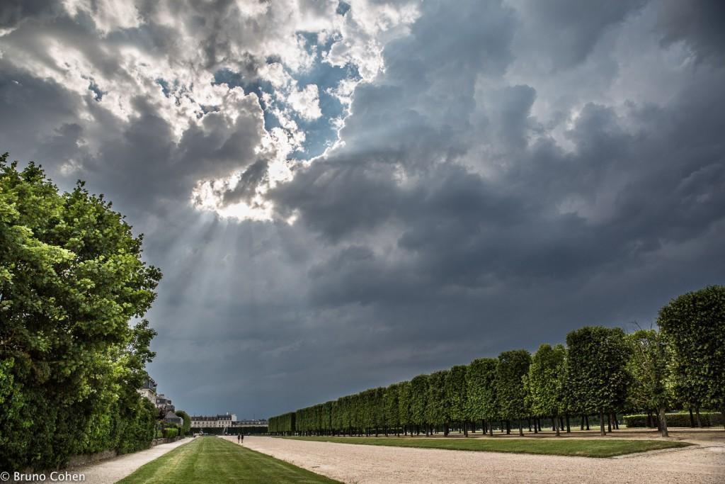 mariage pavillon henri IV saint germain en laye parc