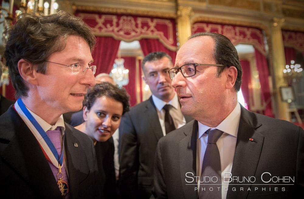Cérémonie des MOF ( Meilleurs Ouvriers de France ) au Palais de l'Elysée
