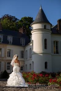 mariage-chateau-saint-just-mariee-parc-photographie