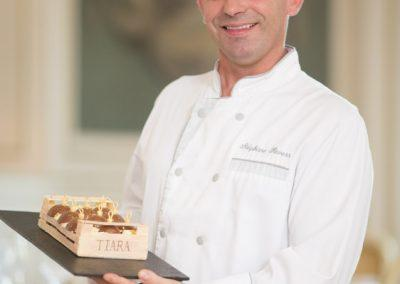 Portrait corporate Chef Patissier Hotel Tiara Montroyal