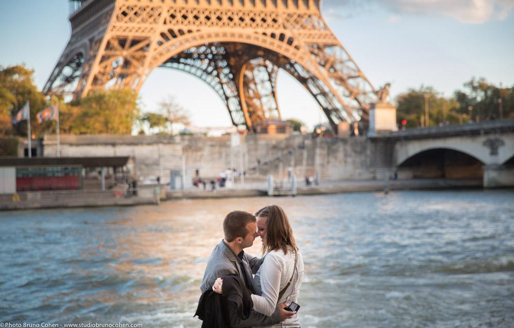 Proposal in Paris: Peter and Tamara