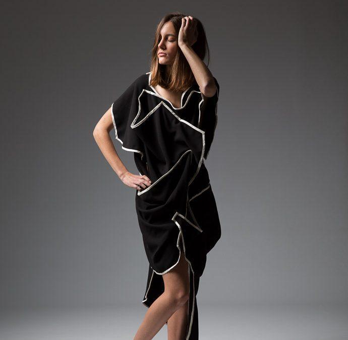 Shooting de mode pour une créatrice de vêtements