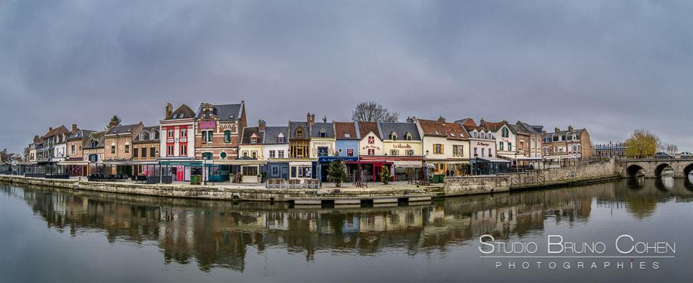 Paysages d'hiver à Amiens