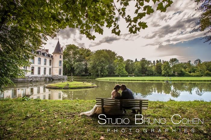 Mariage Emilie et Laurent au château d'Ermenonville