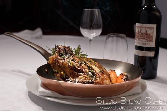 Photo culinaire pour le Relais d'Aumale