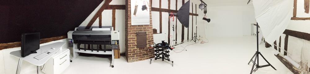 Studio photo tout neuf à Senlis