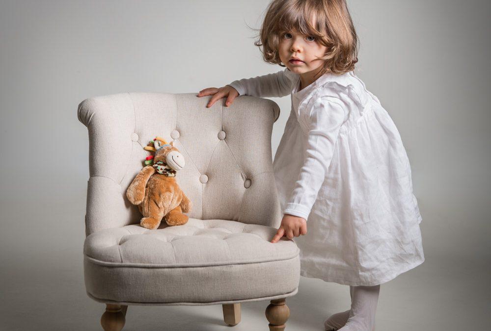 Portrait d'Elise pour ses deux ans
