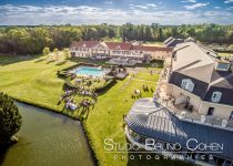 mariage-hotel-mercure-chantilly-lieu-reception-oise-drone