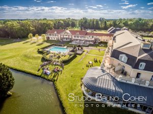 mariage-hotel-mercure-chantilly-lieu-reception-oise-drone