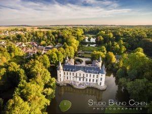 mariage-chateau-ermenonville-drone-aerienne-vue