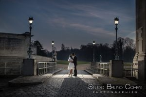 mariage-photo-hiver-chateau-de-chantilly-oise