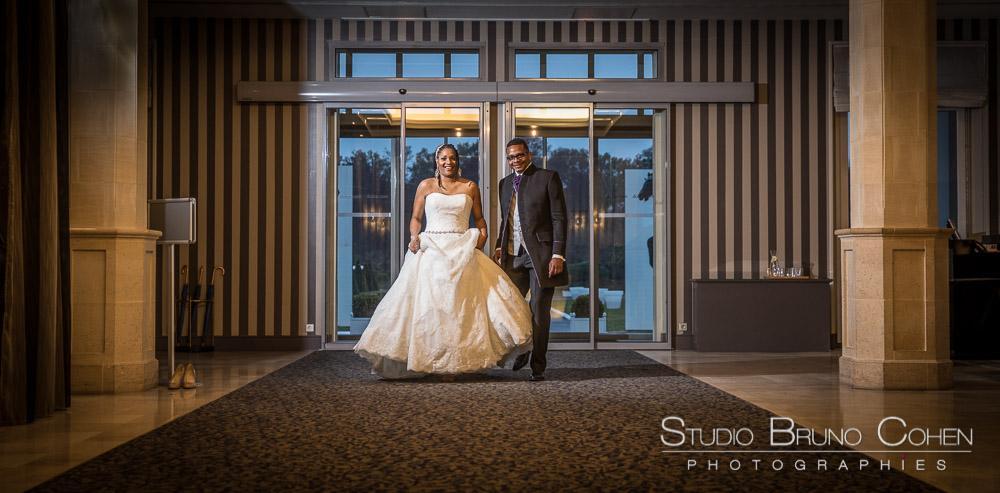 mariés a l'hotel mercure chantilly