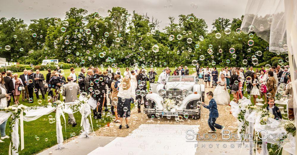 mariage-hotel-mercure-chantilly-ceremonie-invité-bulle