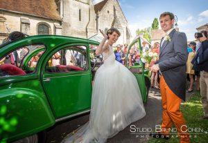 mariage-villers-saint-frambourg-oise-senlis-couple-2cv-maries-invites