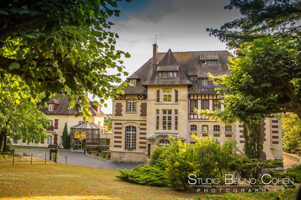 chateau-de-la-tour-chantilly-gouvieux-oise au crépuscule