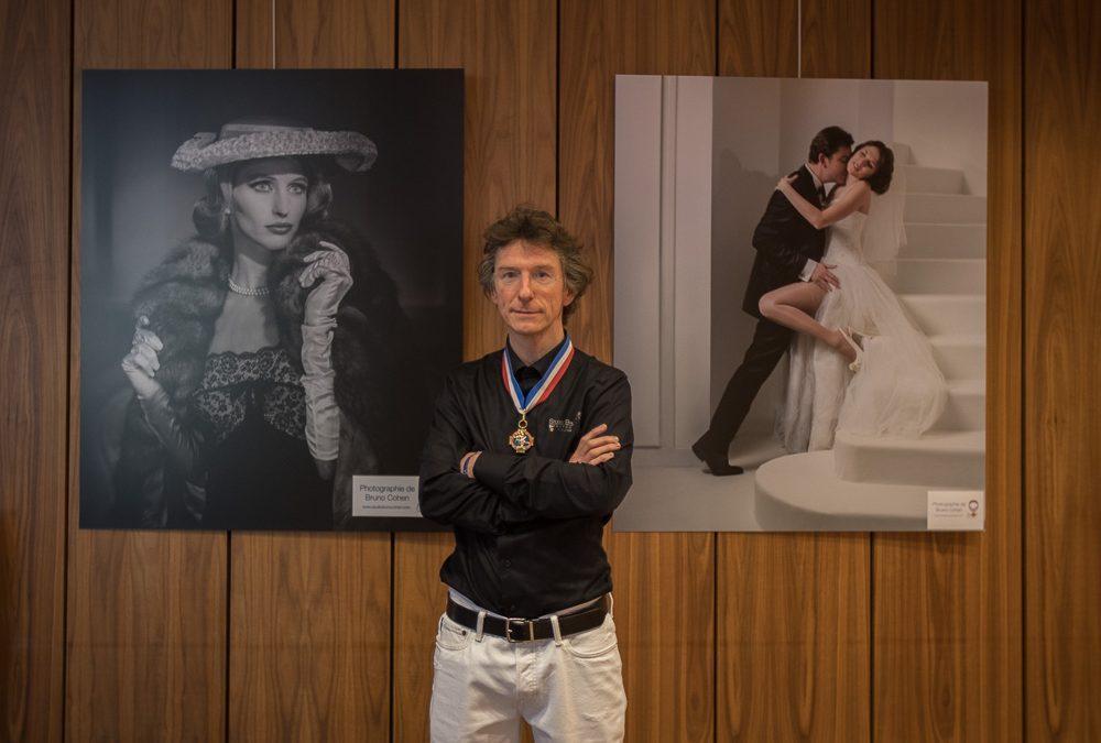 Bruno Cohen expose avec les MOF de l'Oise à l'Hotel du Département