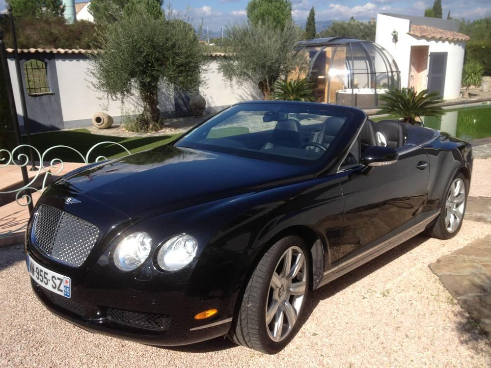 BENTLEY-GT Continental noire-mariage-location-voiture-luxe-collection-bentley