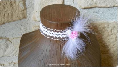 Les ras-de-cou de NGD Création Bijoux Paris : un accessoire original pour nos futures mariées