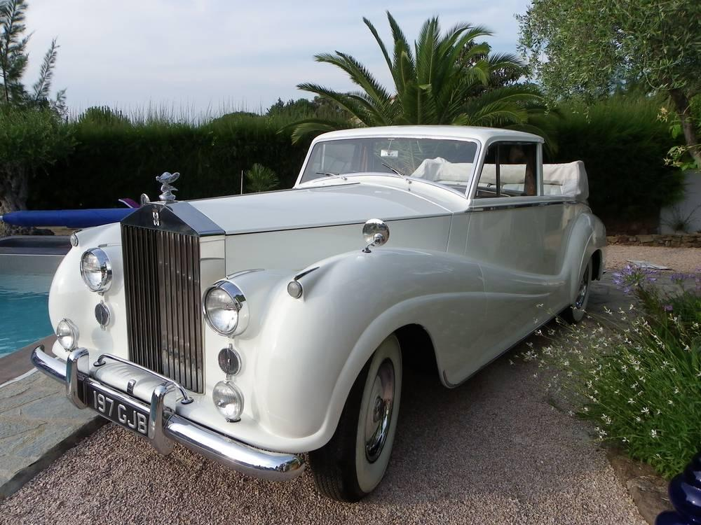 Rolls Royce SILVER-WRAITH-1955 blanche mariage-location-rolls-royce-voiture-location