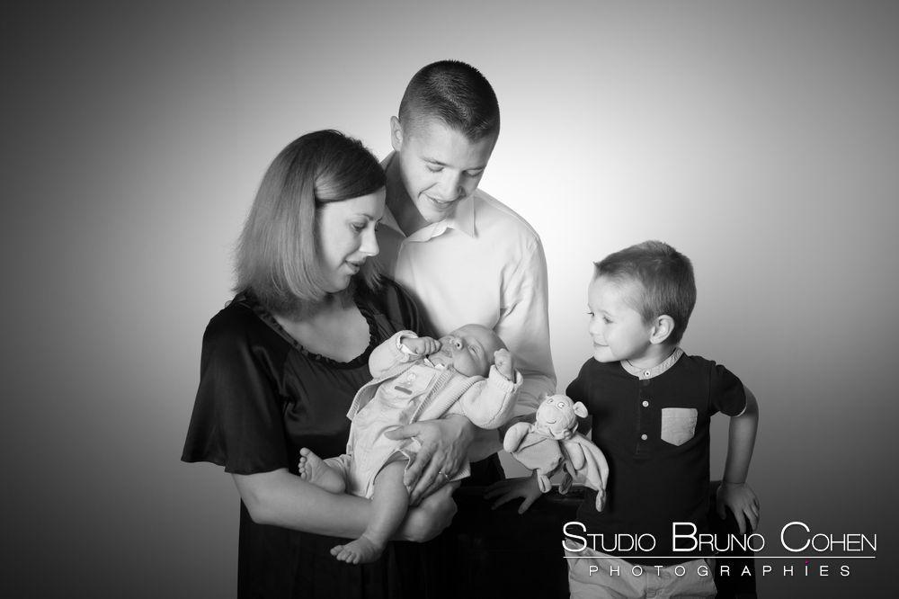 Shooting photo famille avec bébé
