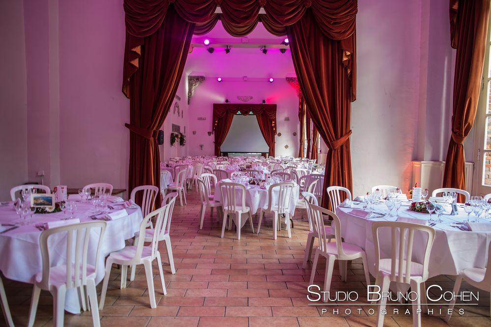 L'Orangerie, salle de mariage de l'Abbaye de chaalis - pres de senlis-oise - un lieu de reception historique