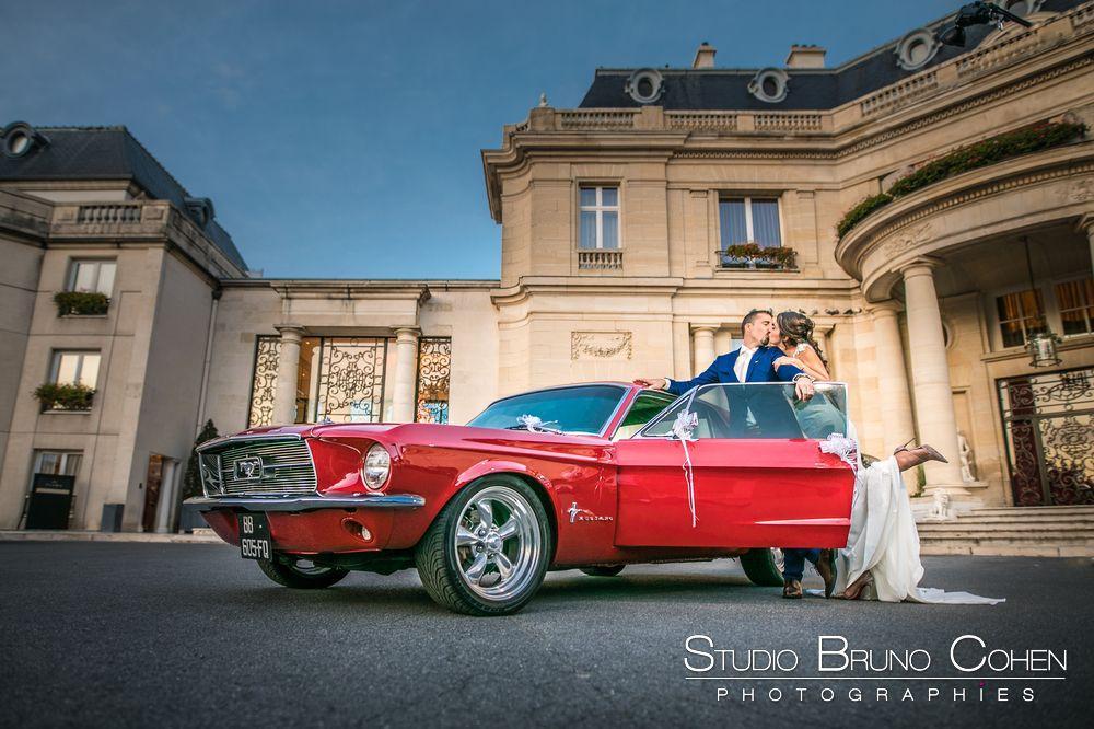 E & C – Mariage a Chatenay en France et au Chateau Hotel Tiara Montroyal