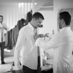 mariage-preparatif-marie-noir-et-blanc-chatenay-en-france
