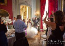 mariage-chateau-champlatreux-epinay-arrivée-couple-mariés-invités